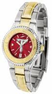 Troy Trojans Competitor Two-Tone AnoChrome Women's Watch