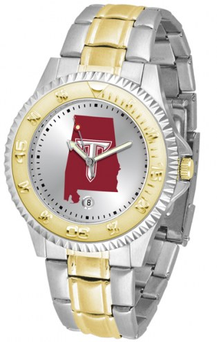 Troy Trojans Competitor Two-Tone Men's Watch