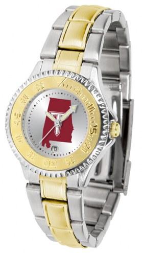 Troy Trojans Competitor Two-Tone Women's Watch