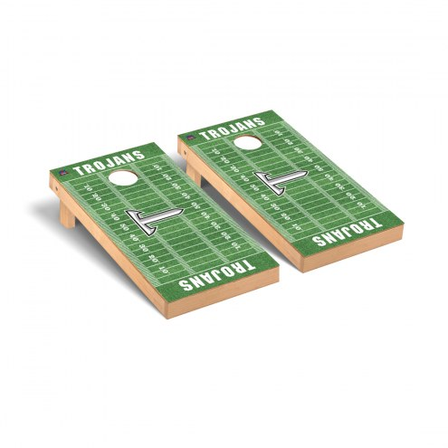 Troy Trojans Football Field Cornhole Game Set