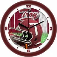 Troy Trojans Football Helmet Wall Clock