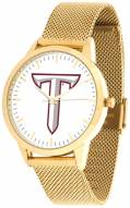 Troy Trojans Gold Mesh Statement Watch