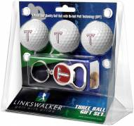 Troy Trojans Golf Ball Gift Pack with Key Chain