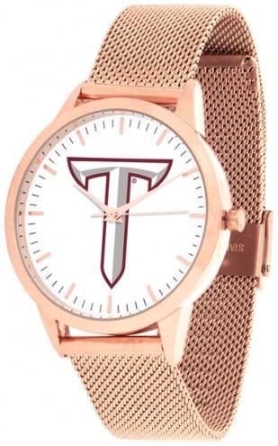 Troy Trojans Rose Mesh Statement Watch