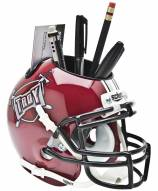 Troy Trojans Schutt Football Helmet Desk Caddy