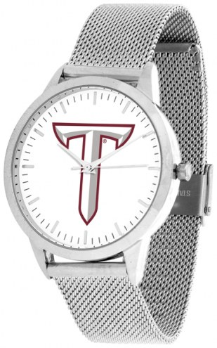 Troy Trojans Silver Mesh Statement Watch