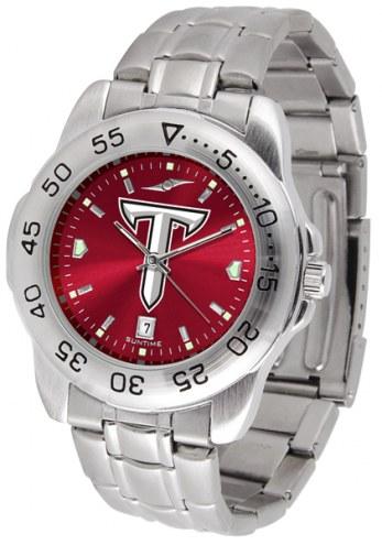 Troy Trojans Sport Steel AnoChrome Men's Watch