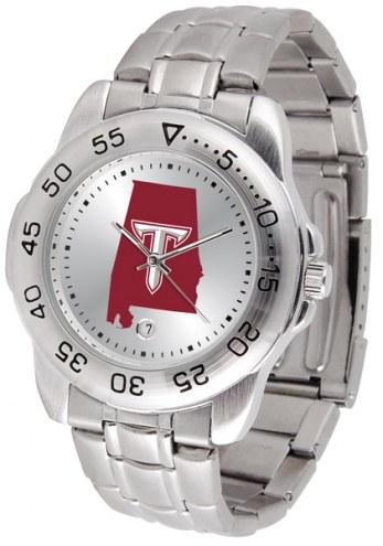 Troy Trojans Sport Steel Men's Watch
