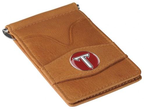 Troy Trojans Tan Player's Wallet