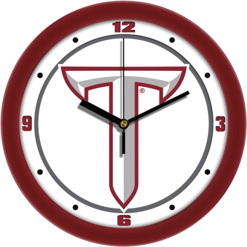 Troy Trojans Traditional Wall Clock