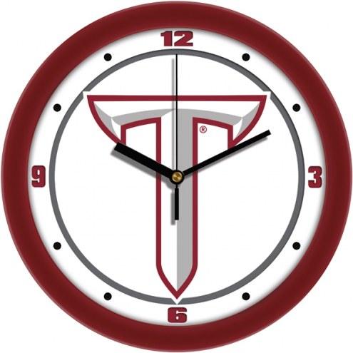 Troy Trojans Traditional Wall Clock