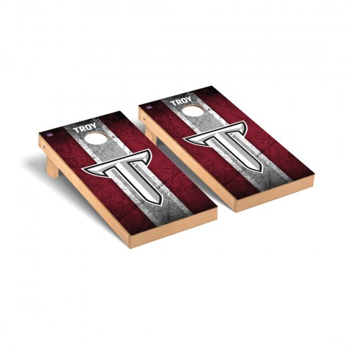 Troy Trojans Vintage Cornhole Game Set