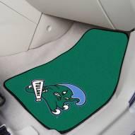 Tulane Green Wave 2-Piece Carpet Car Mats