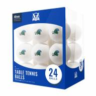 Tulane Green Wave 24 Count Ping Pong Balls
