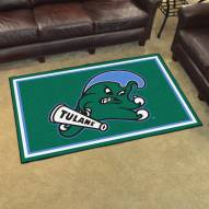 Tulane Green Wave 4' x 6' Area Rug