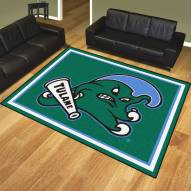 Tulane Green Wave 8' x 10' Area Rug
