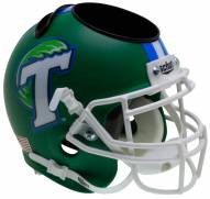 Tulane Green Wave Alternate 1 Schutt Football Helmet Desk Caddy