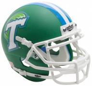 Tulane Green Wave Alternate 1 Schutt Mini Football Helmet