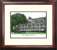 Tulane Green Wave Alumnus Framed Lithograph