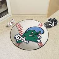 Tulane Green Wave Baseball Rug