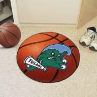 Tulane Green Wave Basketball Mat