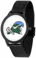 Tulane Green Wave Black Mesh Statement Watch