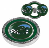 Tulane Green Wave Challenge Coin with 2 Ball Markers