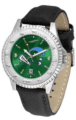 Tulane Green Wave Competitor AnoChrome Men's Watch