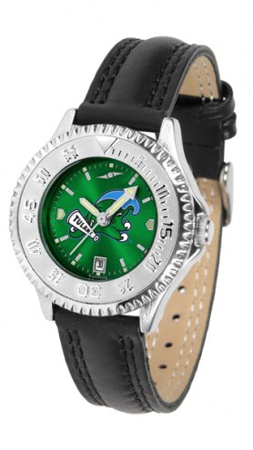 Tulane Green Wave Competitor AnoChrome Women's Watch