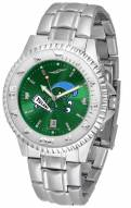 Tulane Green Wave Competitor Steel AnoChrome Men's Watch
