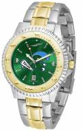 Tulane Green Wave Competitor Two-Tone AnoChrome Men's Watch
