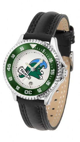 Tulane Green Wave Competitor Women's Watch
