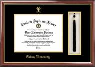 Tulane Green Wave Diploma Frame & Tassel Box