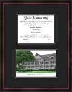 Tulane Green Wave Diplomate Diploma Frame