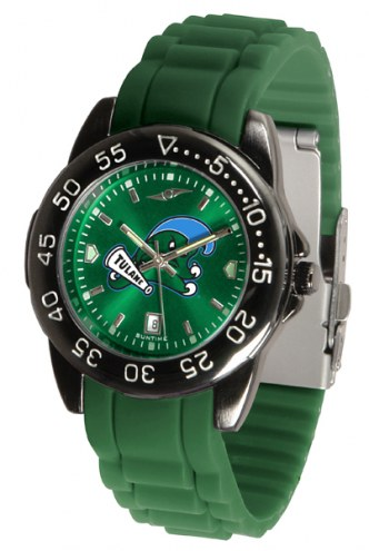 Tulane Green Wave FantomSport AC AnoChrome Men's Watch