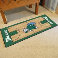 Tulane Green Wave Football Field Runner Rug