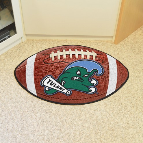 Tulane Green Wave Football Floor Mat