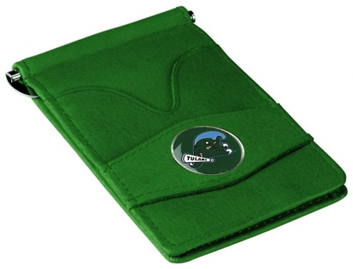 Tulane Green Wave Green Player's Wallet