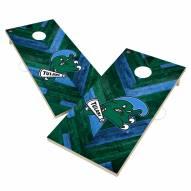 Tulane Green Wave Herringbone Cornhole Game Set