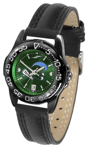 Tulane Green Wave Ladies Fantom Bandit AnoChrome Watch