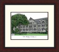 Tulane Green Wave Legacy Alumnus Framed Lithograph