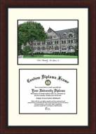 Tulane Green Wave Legacy Scholar Diploma Frame