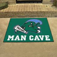 Tulane Green Wave Man Cave All-Star Rug