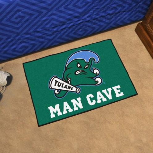 Tulane Green Wave Man Cave Starter Mat