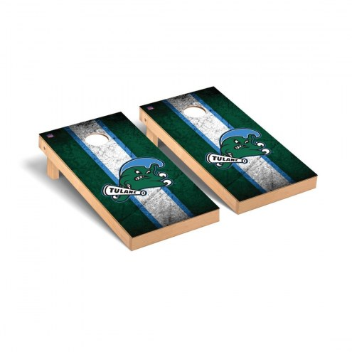 Tulane Green Wave Mini Cornhole Set
