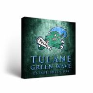 Tulane Green Wave Museum Canvas Wall Art