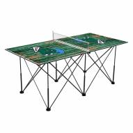 Tulane Green Wave Pop Up 6' Ping Pong Table
