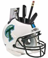 Tulane Green Wave Schutt Football Helmet Desk Caddy