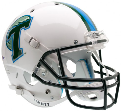 Tulane Green Wave Schutt XP Collectible Full Size Football Helmet