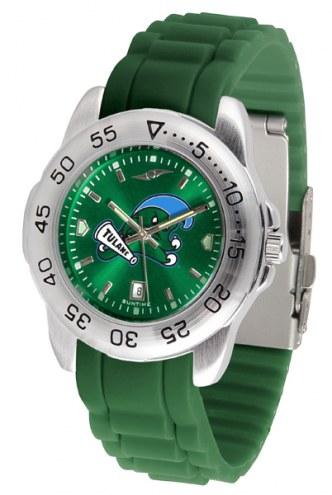 Tulane Green Wave Sport AC AnoChrome Men's Watch